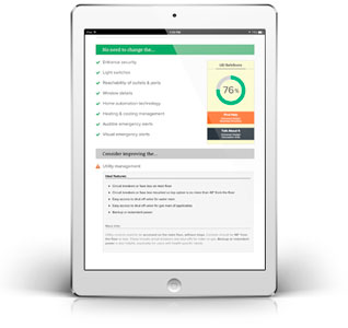 SafeScore.org on an iPad